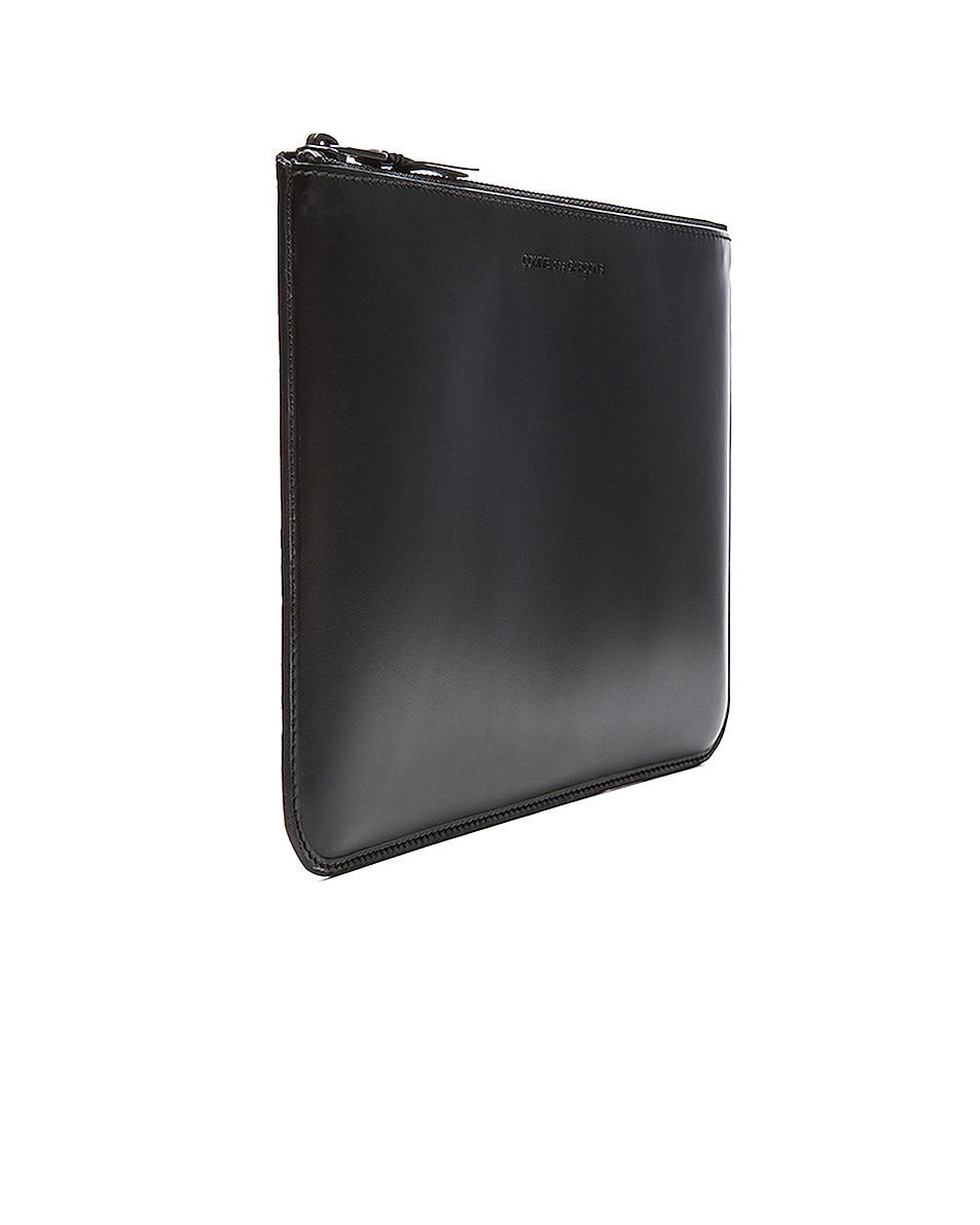 Image 3 of Comme Des Garcons Pouch in Very Black