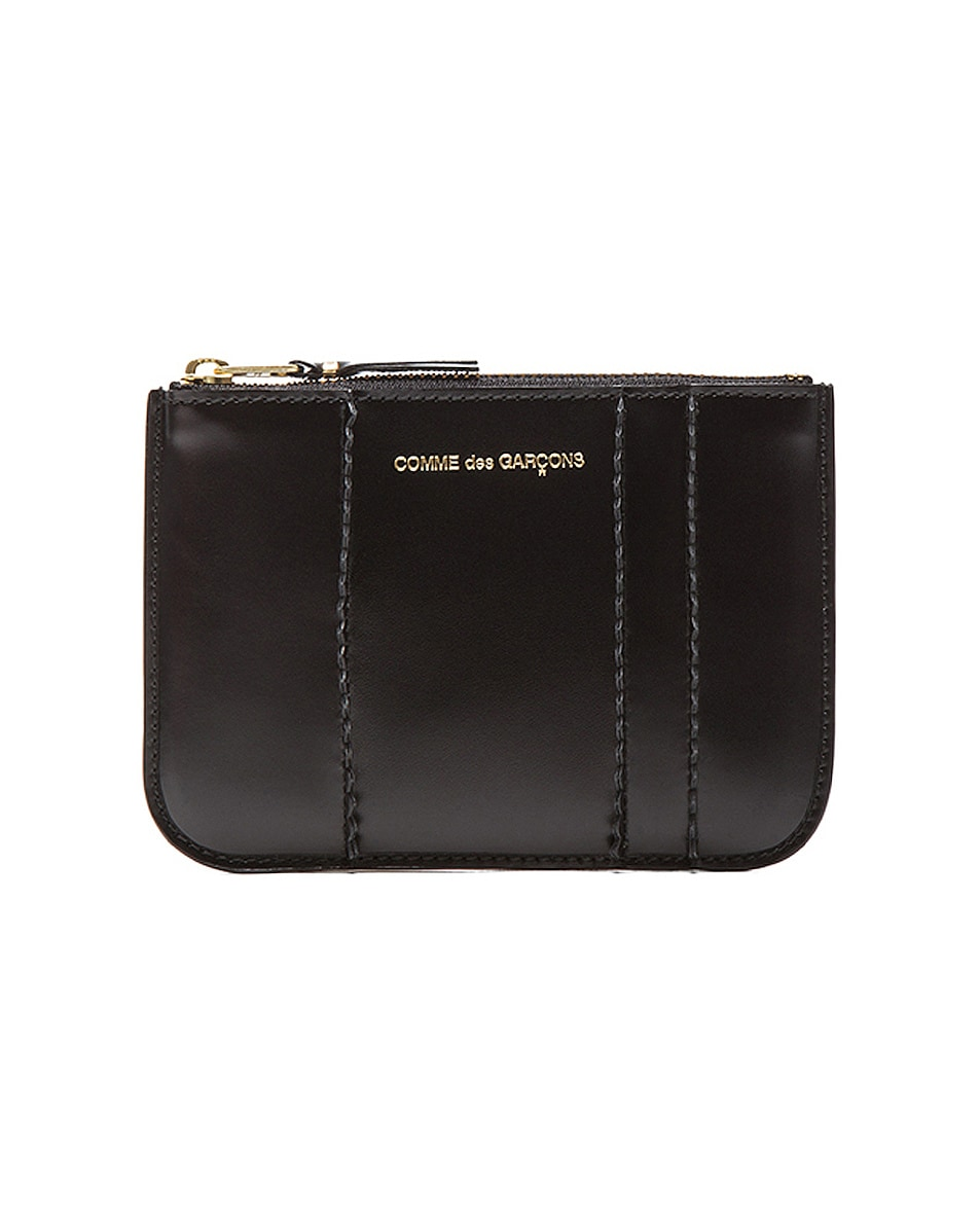 Image 1 of Comme Des Garcons Raised Spike Small Pouch in Black