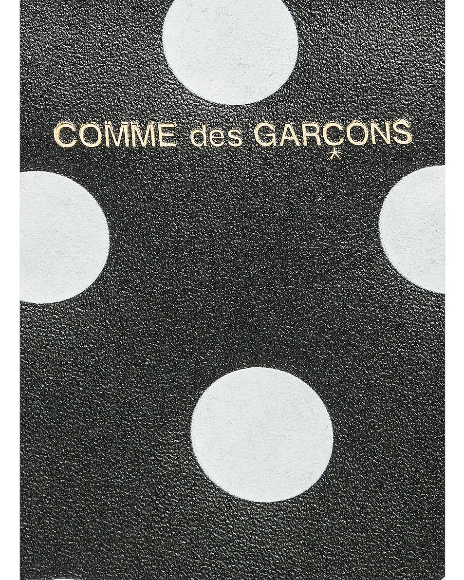 Image 5 of Comme Des Garcons Polka Dot Pouch in Black