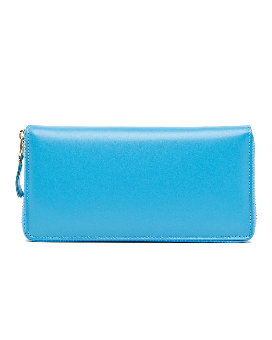 Image 1 of Comme Des Garcons Classic Long Wallet in Blue