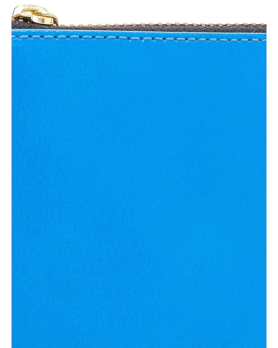 Image 6 of Comme Des Garcons Super Fluo Pouch in Orange & Blue