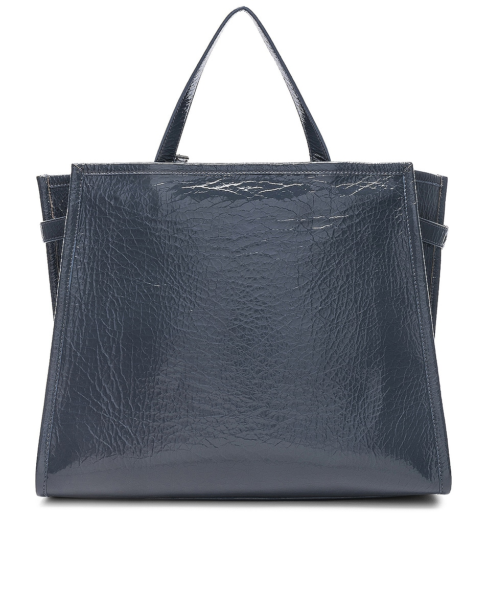Image 3 of CALVIN KLEIN 205W39NYC East West Side Strap Tote in Blue Grey