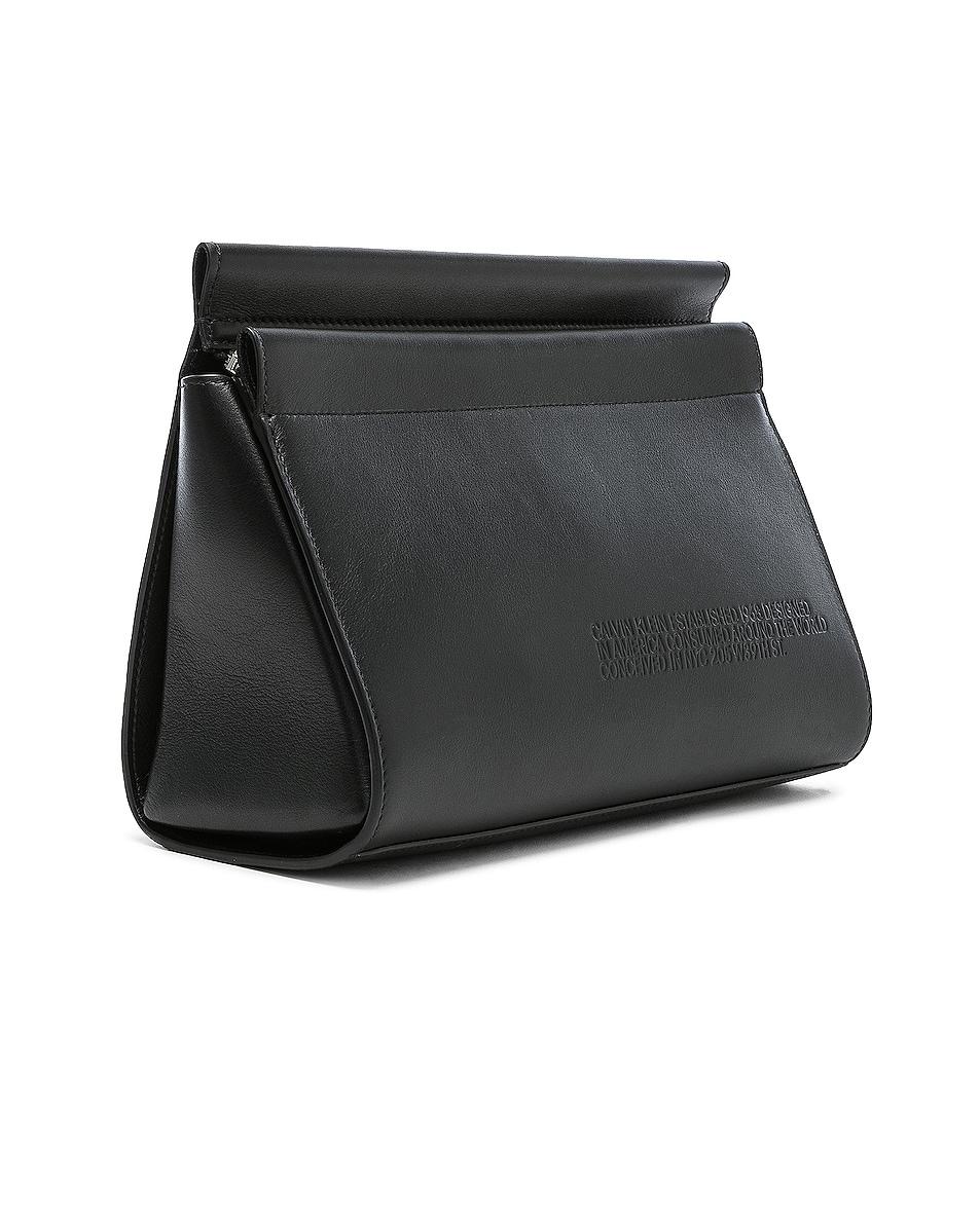 Image 4 of CALVIN KLEIN 205W39NYC Top Zip Crossbody in Black
