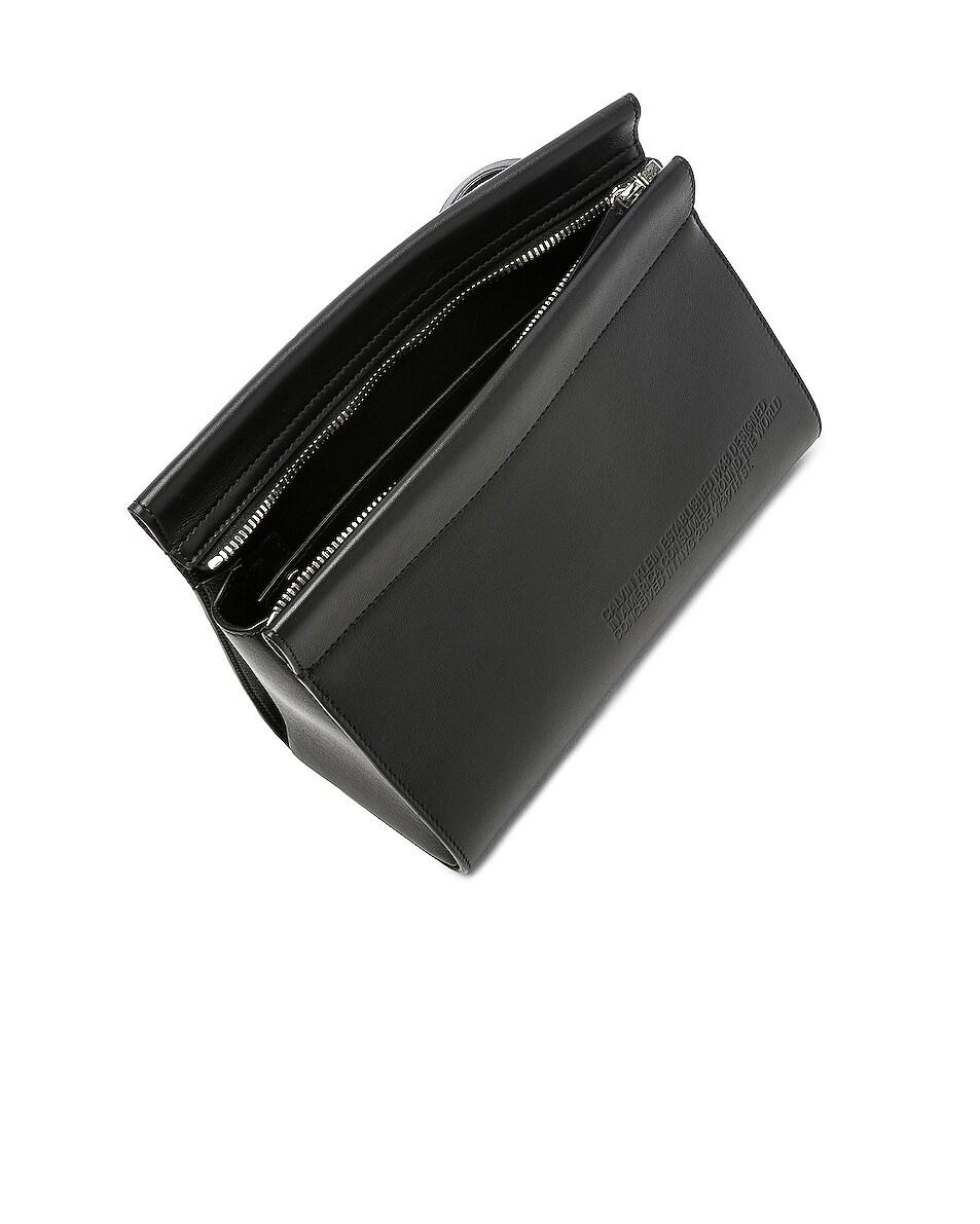 Image 5 of CALVIN KLEIN 205W39NYC Top Zip Crossbody in Black