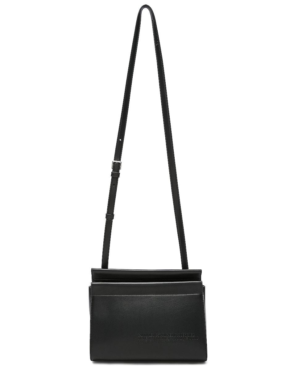 Image 6 of CALVIN KLEIN 205W39NYC Top Zip Crossbody in Black