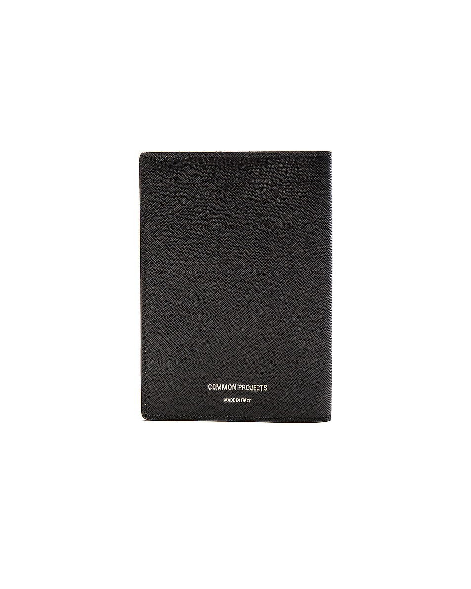 Image 2 of Common Projects Passport Folio in Black