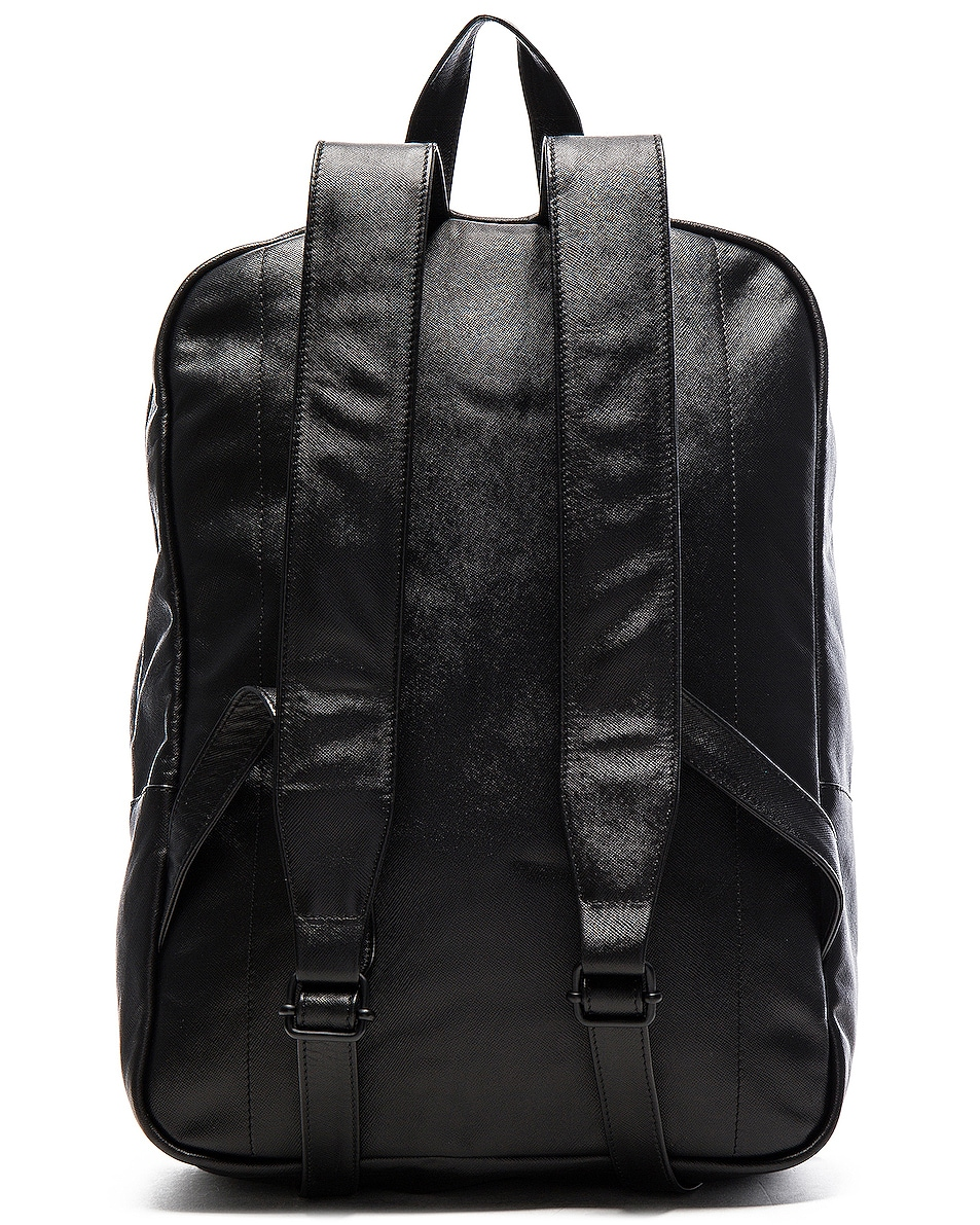 Image 3 of Common Projects Leather Backpack in Black