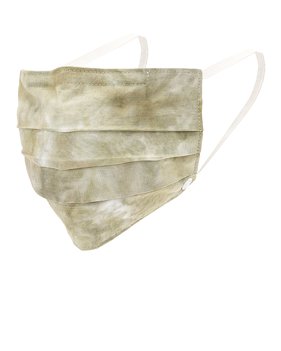 Image 1 of COTTON CITIZEN Face Mask in Basil Haze