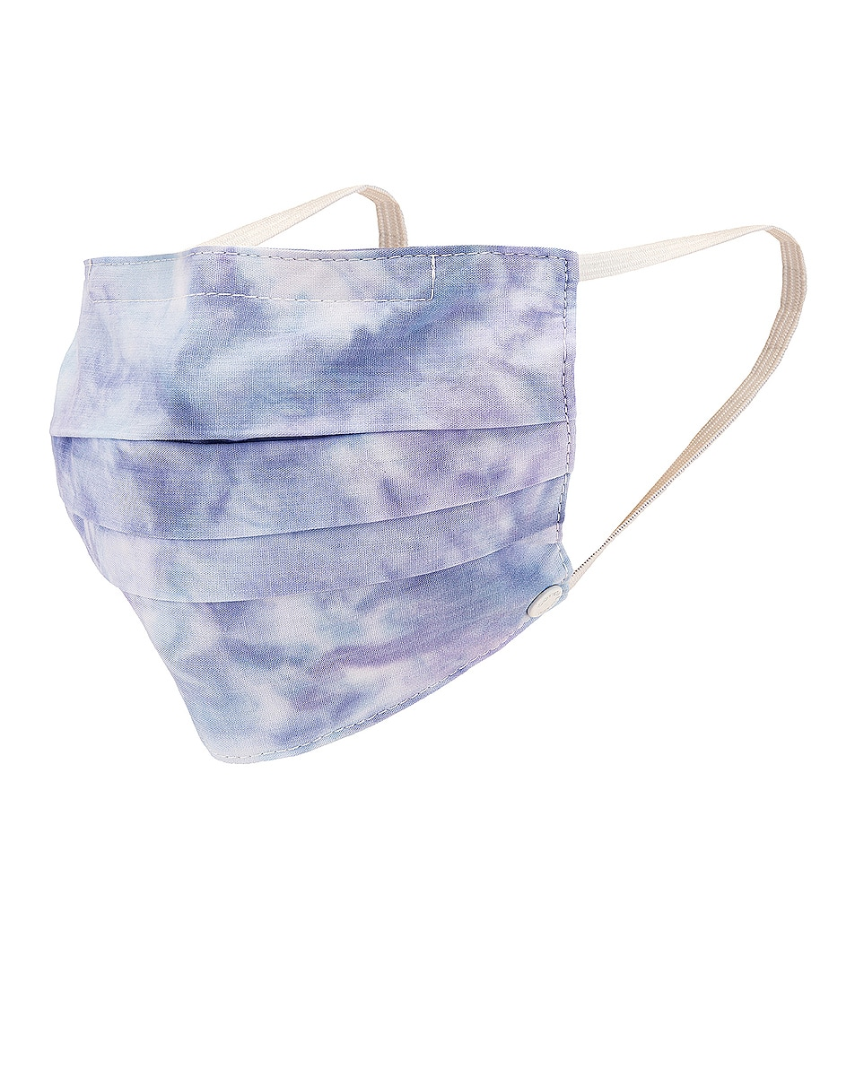 Image 1 of COTTON CITIZEN Face Mask in Peony Blast