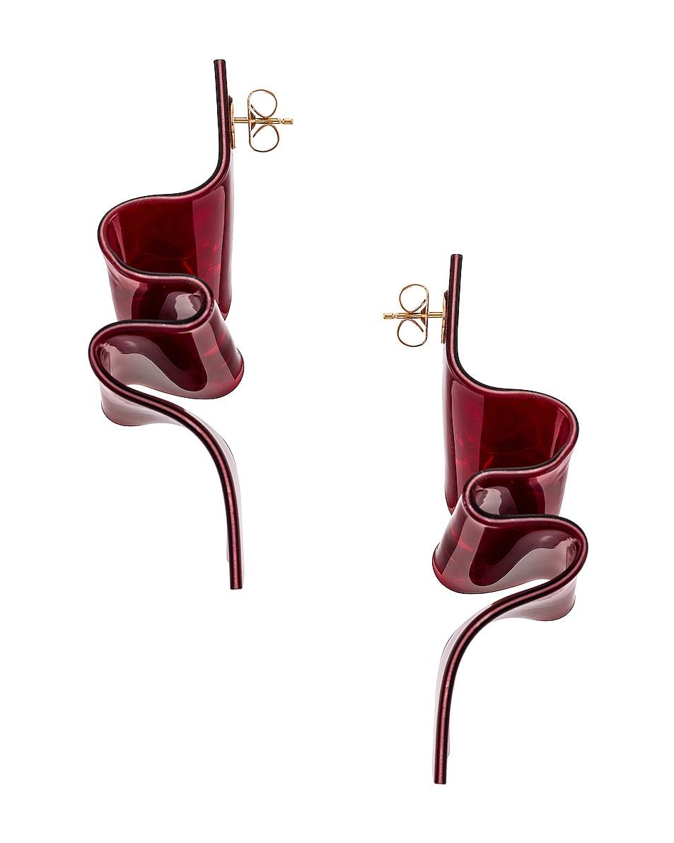Image 3 of CARMEN MARCH Earrings in Red