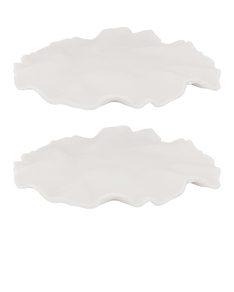 Image 1 of Completedworks Set of 2 Plates in White