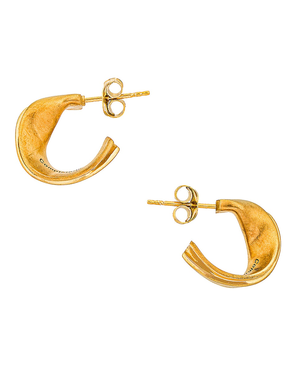 Image 1 of Completedworks Plume Earrings in Gold