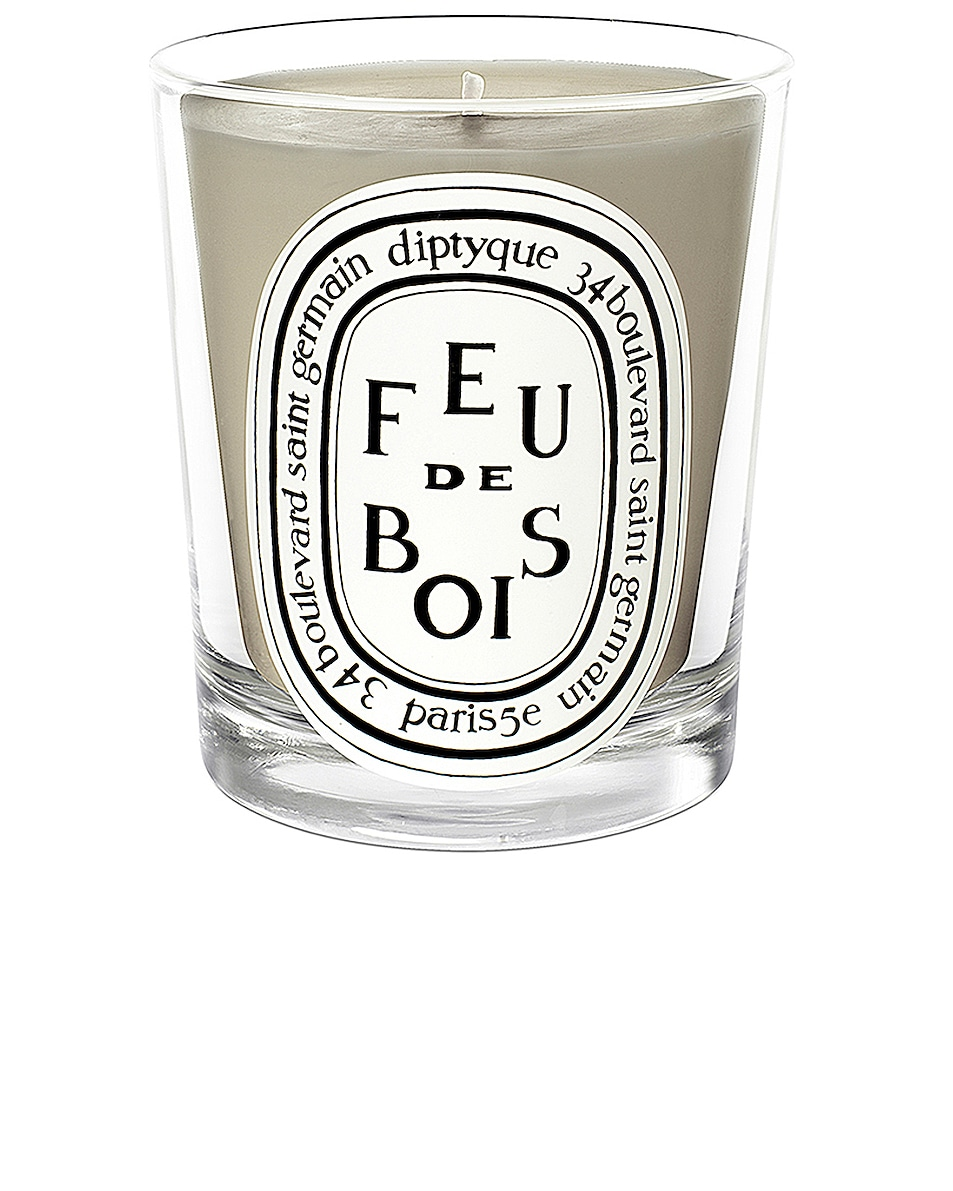 Image 1 of Diptyque Feu De Bois Scented Candle in