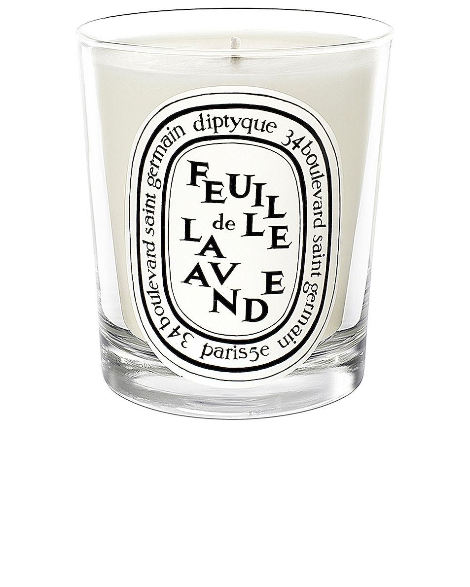 Image 1 of Diptyque Feuille De Lavande Scented Candle in