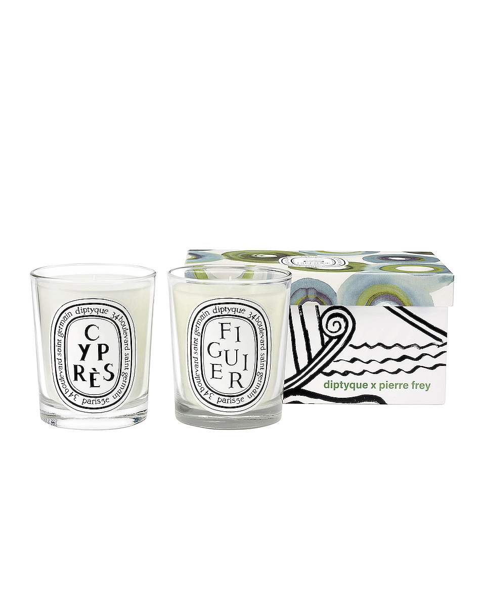 Image 1 of Diptyque Figuier and Cypress Set in