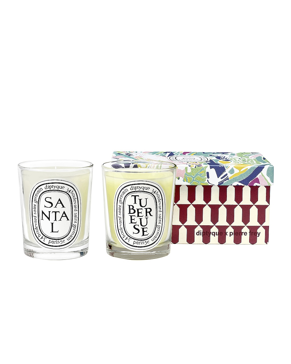 Image 1 of Diptyque Tubereuse and Santal Set in