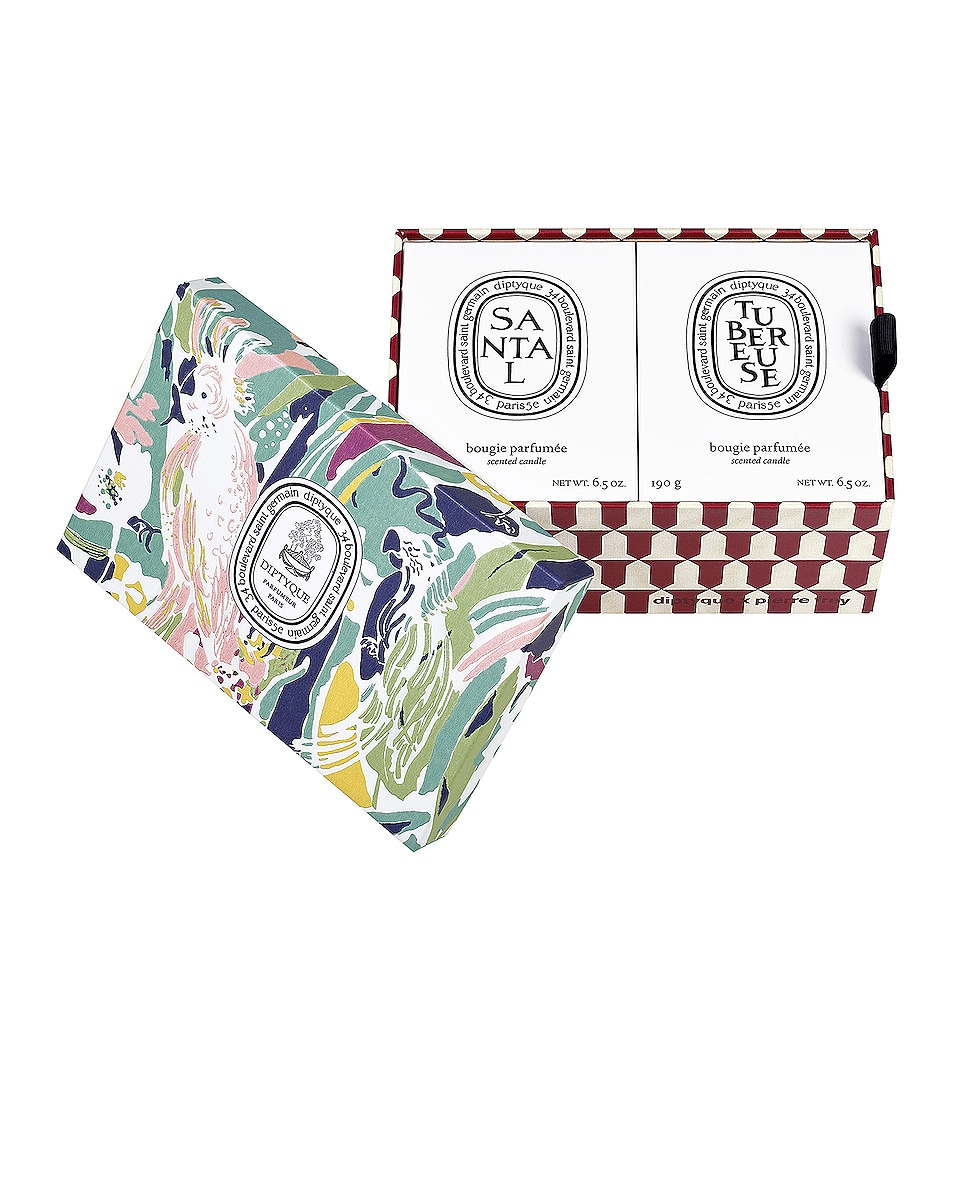 Image 2 of Diptyque Tubereuse and Santal Set in