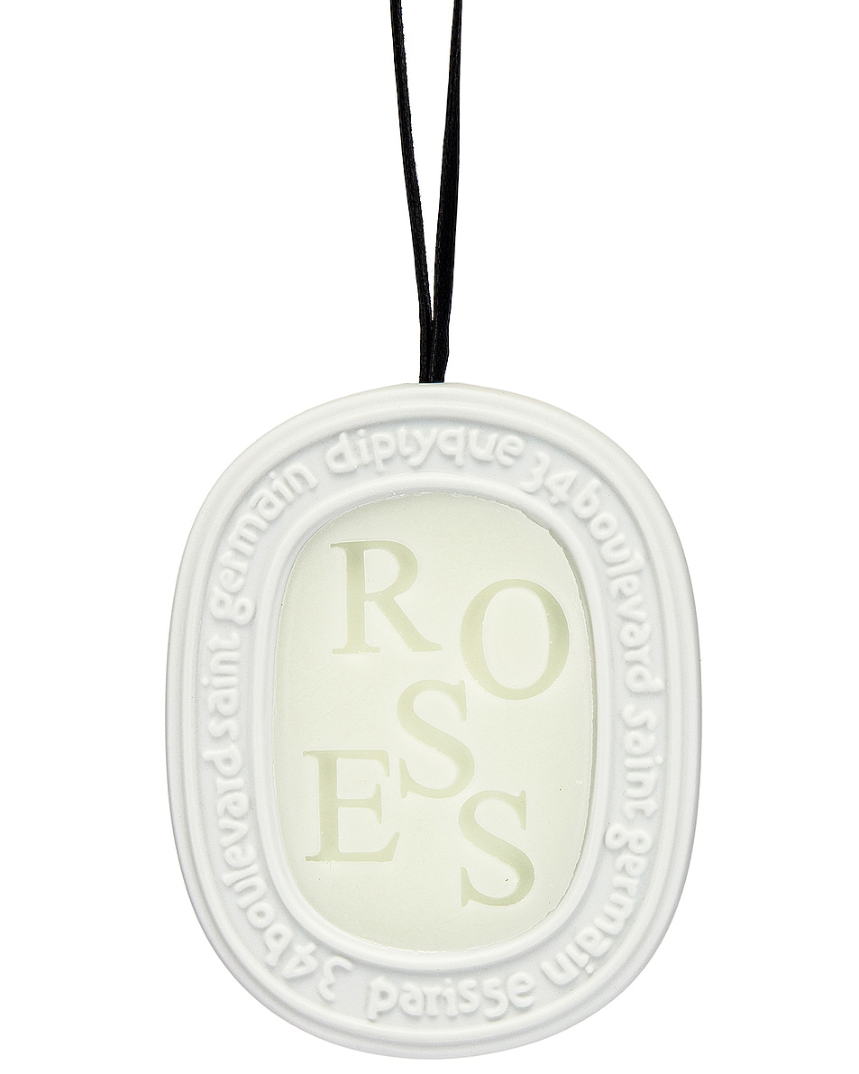 Image 1 of Diptyque Roses Scented Oval in