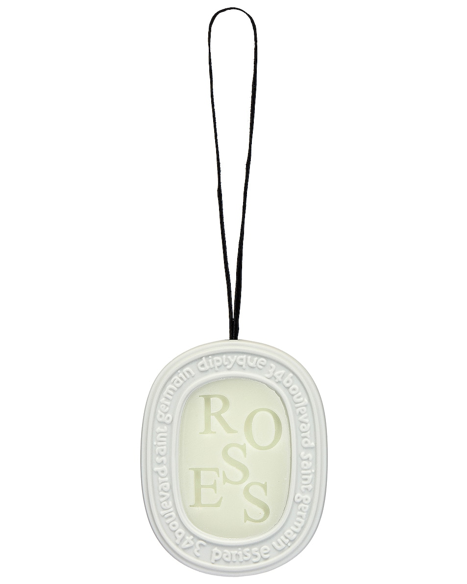 Image 4 of Diptyque Roses Scented Oval in