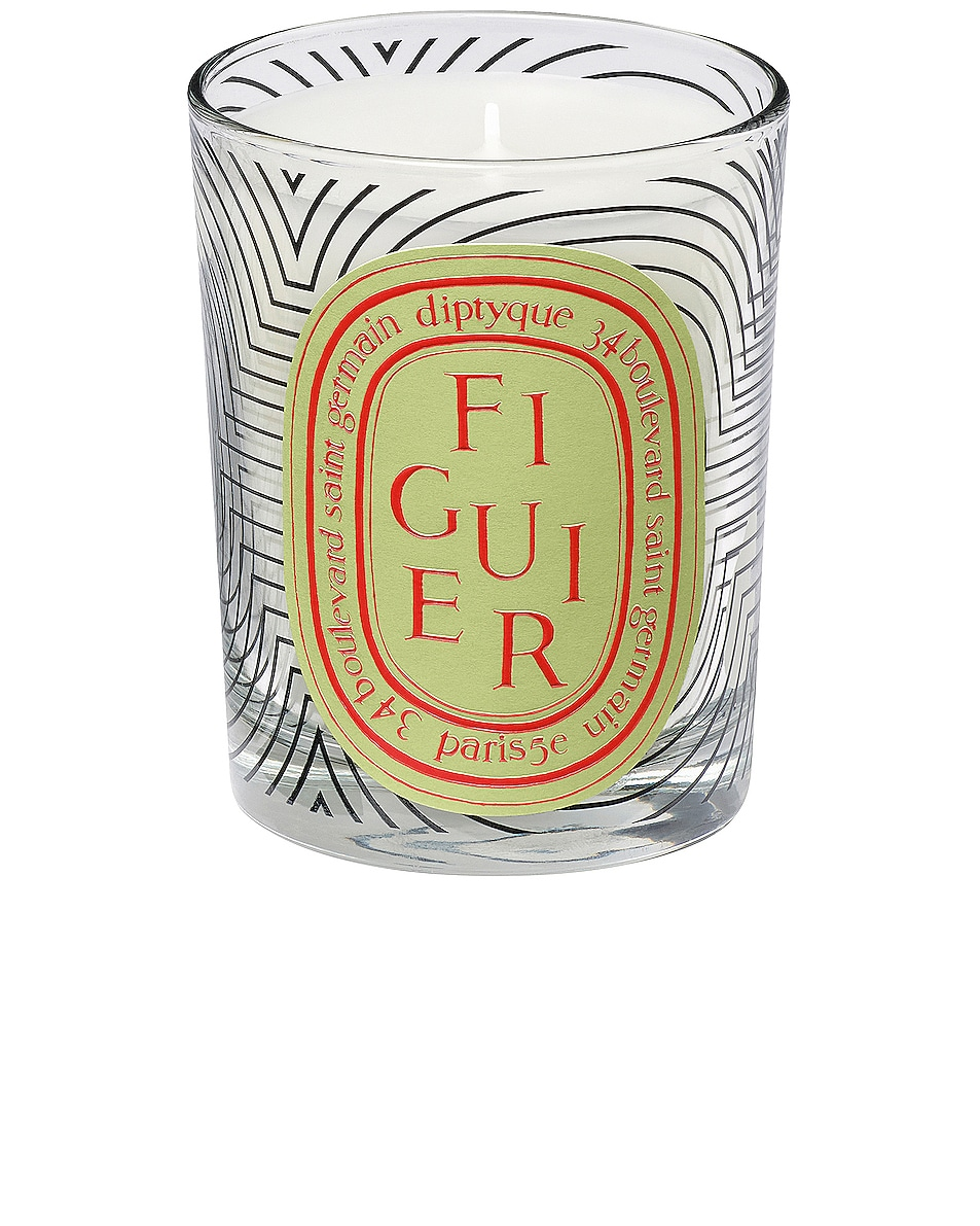 Image 1 of Diptyque Dancing Ovals Figuier Candle in
