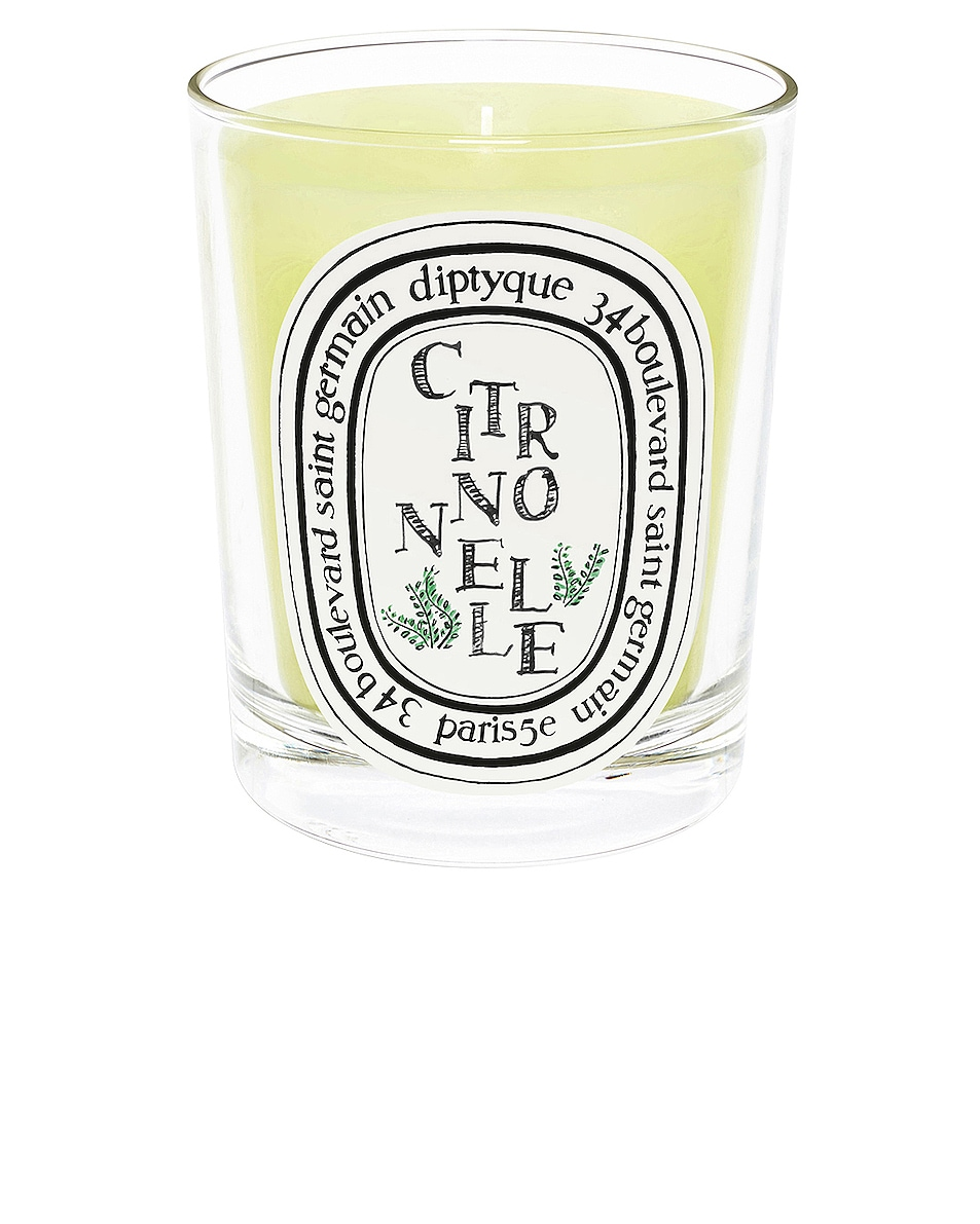 Image 1 of Diptyque Citronnelle Scented Candle in