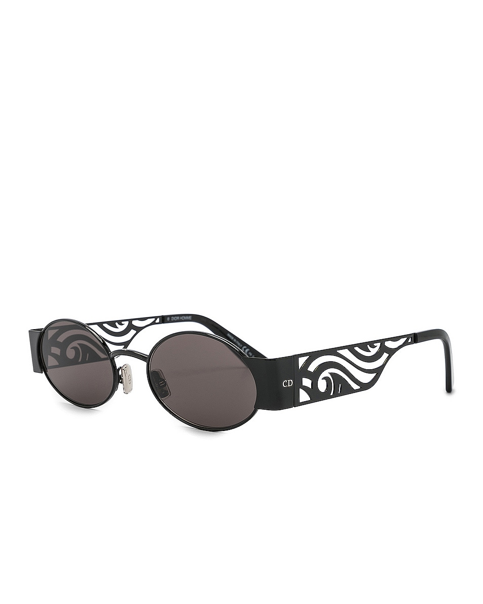 Image 2 of Dior Rave Sunglasses in Black & Gray