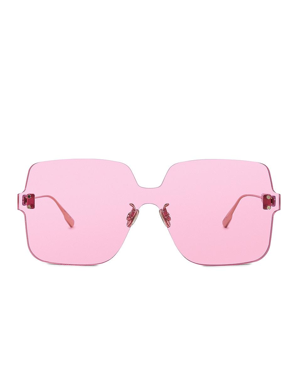 Image 1 of Dior Color Quake 1 Sunglasses in Fuchsia