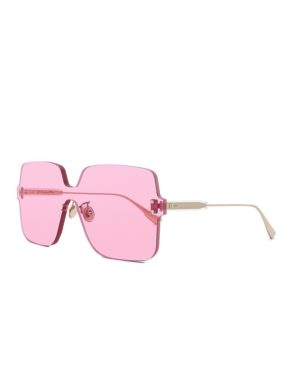 Image 2 of Dior Color Quake 1 Sunglasses in Fuchsia