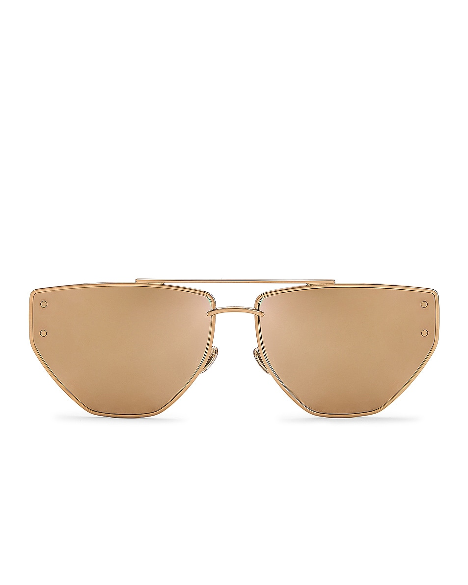 Image 1 of Dior Clan 2 Sunglasses in Rose Gold