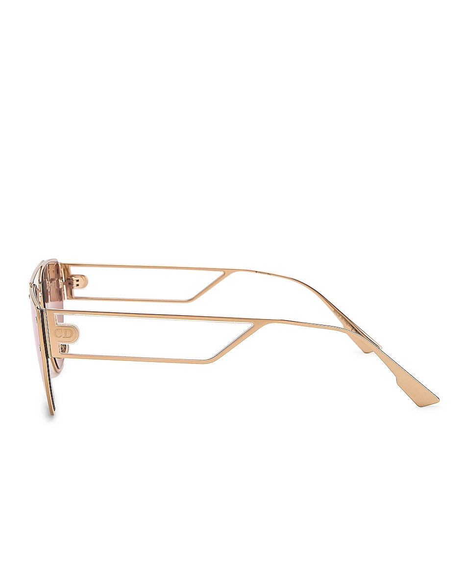Image 3 of Dior Clan 2 Sunglasses in Rose Gold