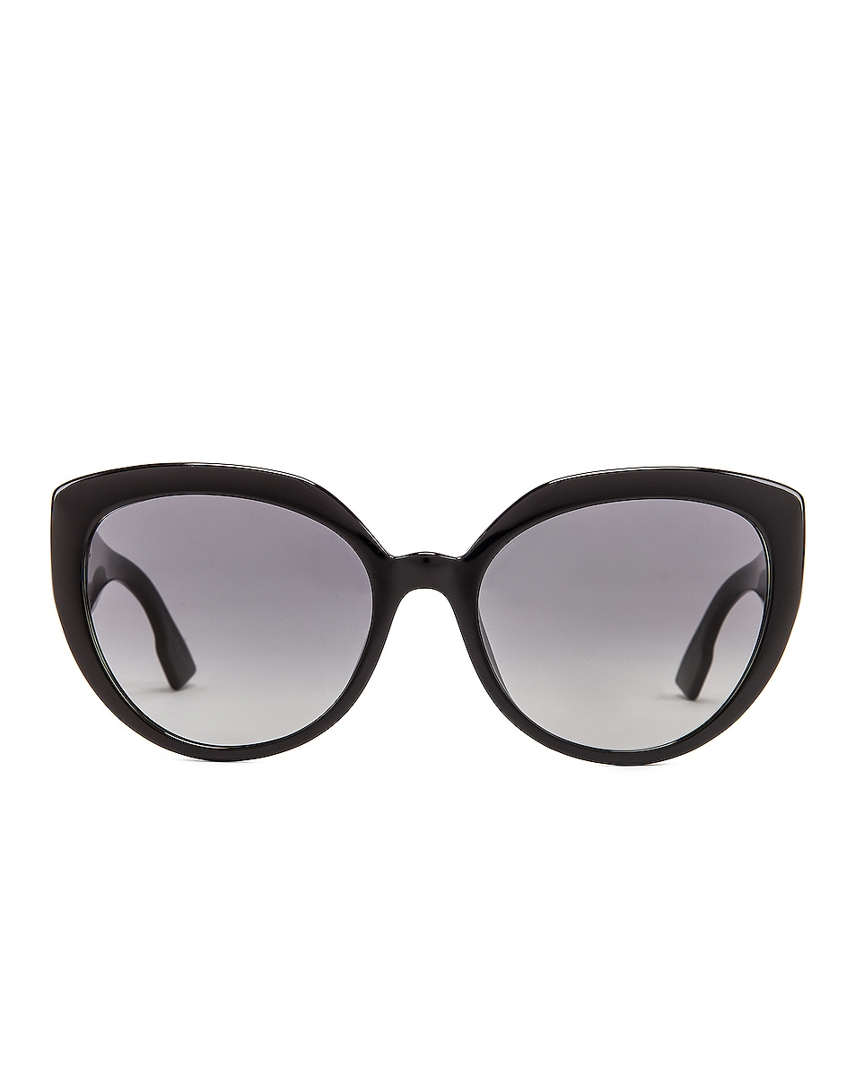 Image 1 of Dior DDIORF Cateye Sunglasses in Black
