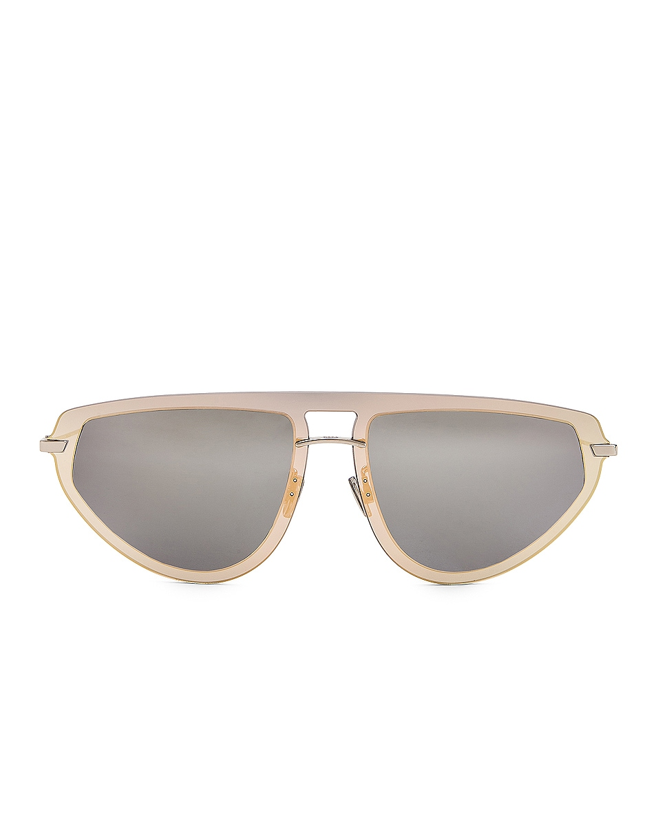 Image 1 of Dior Ultime 2 Sunglasses in Gold & Silver