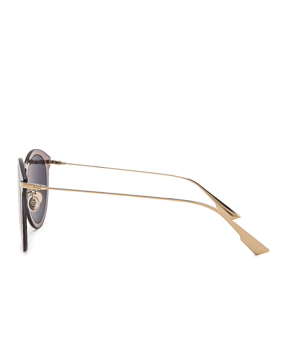 Image 3 of Dior Ultime 2 Sunglasses in Gold & Silver