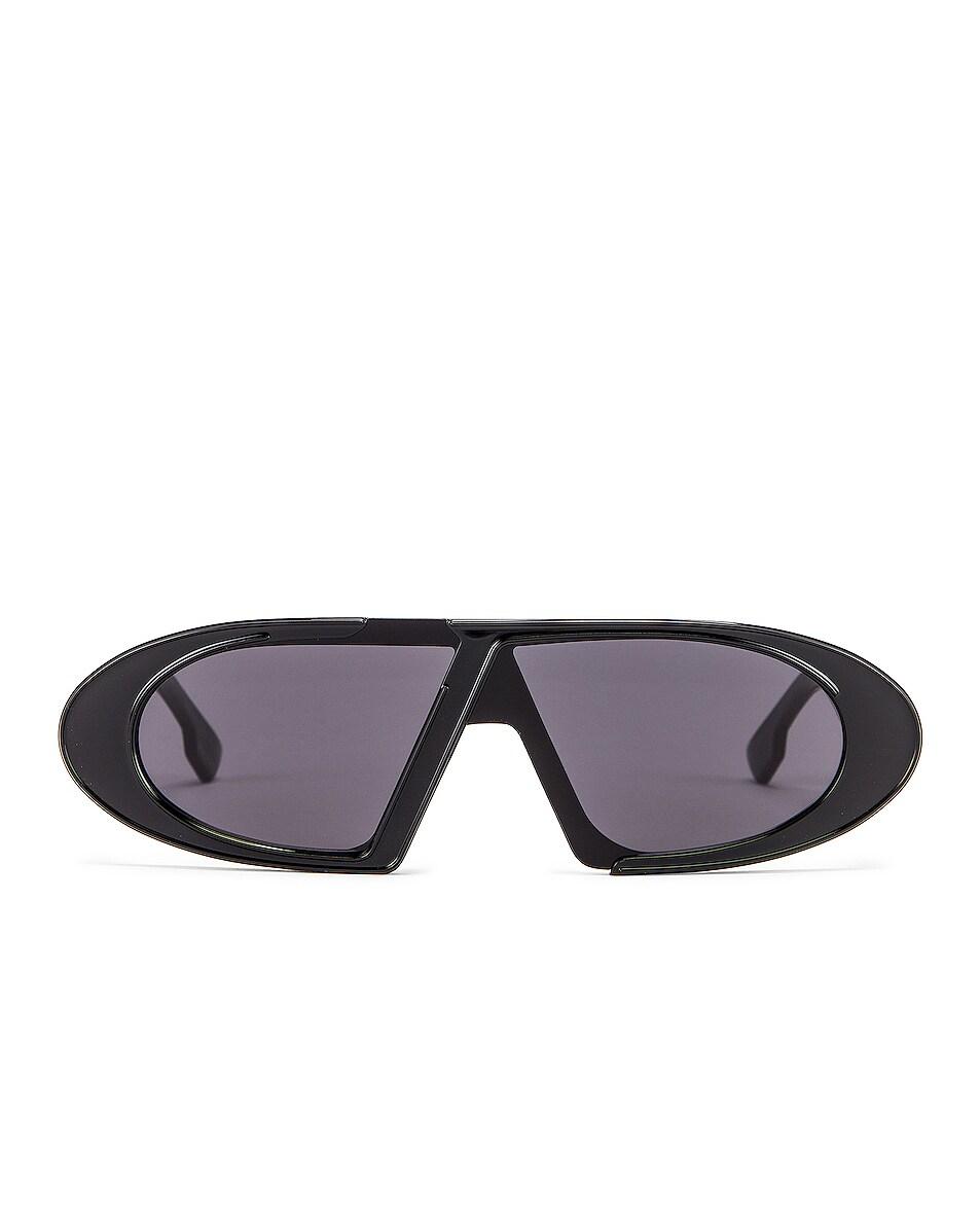 Image 1 of Dior Dioroblique Small Sunglasses in Black & Gray