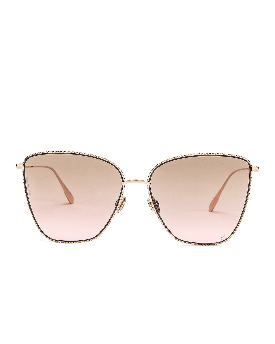 Image 1 of Dior Society Sunglasses in Gold Copper