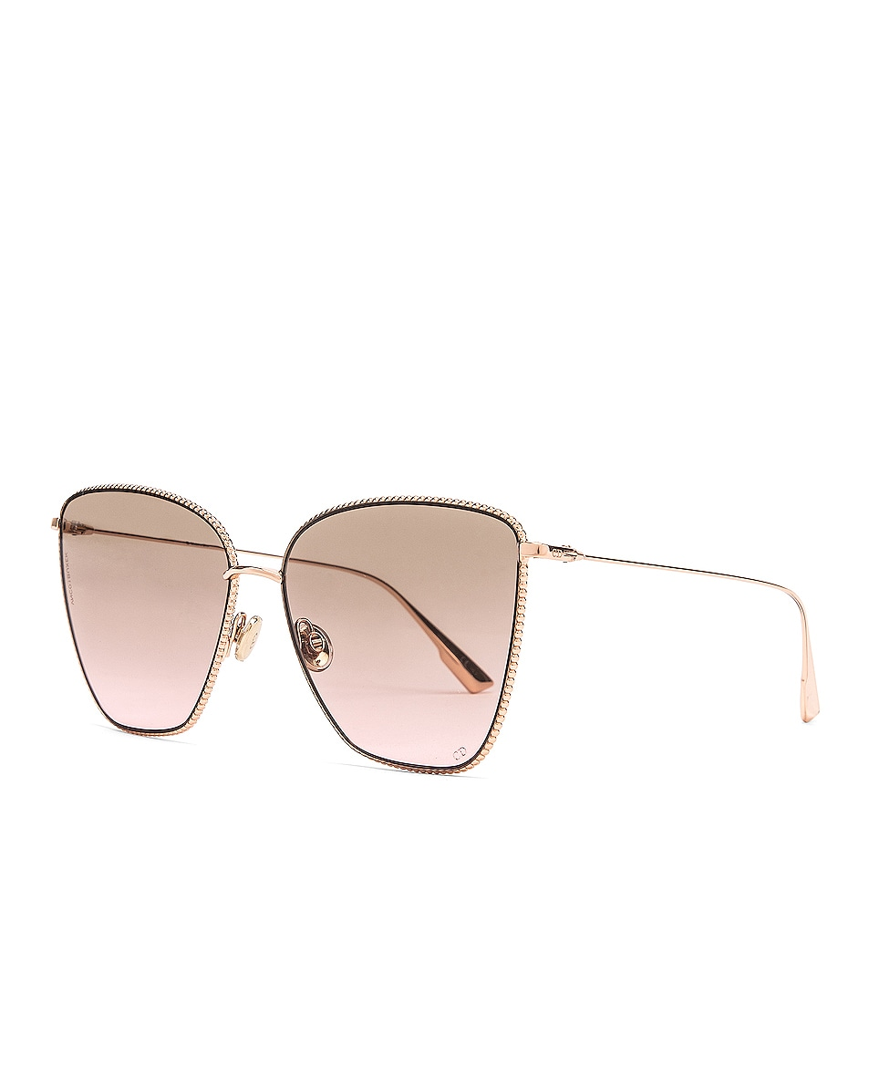 Image 2 of Dior Society Sunglasses in Gold Copper