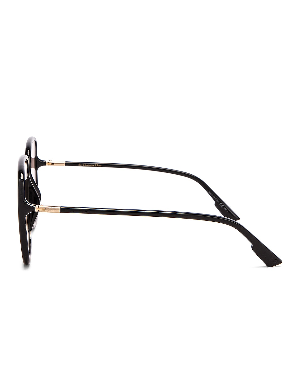 Image 3 of Dior Stellaire Sunglasses in Black & Pink