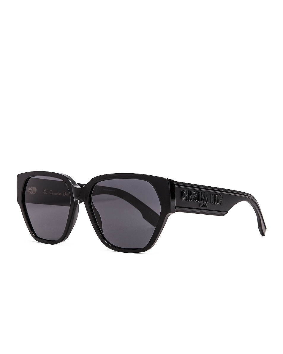 Image 2 of Dior Geometric Sunglasses in Black