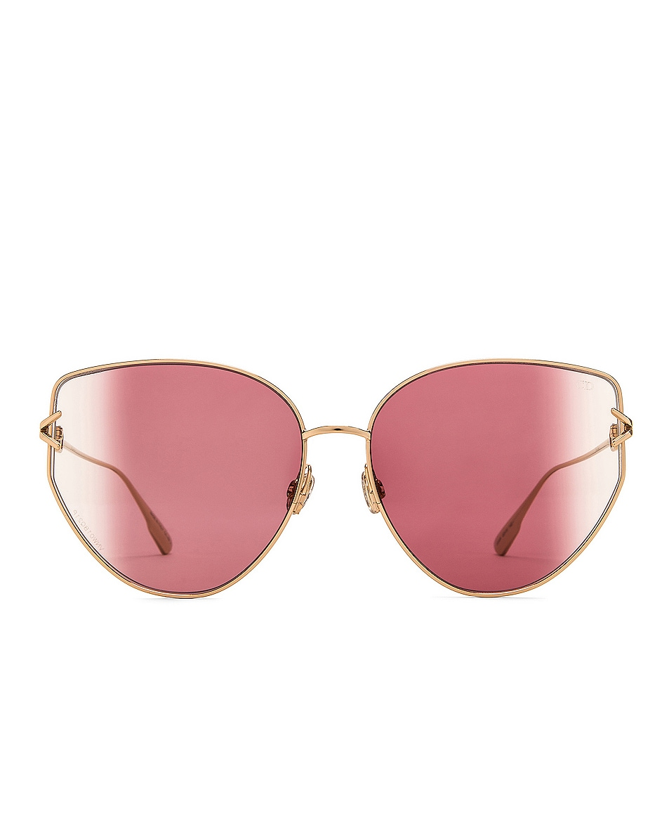 Image 1 of Dior Gipsy Sunglasses in Rose Gold