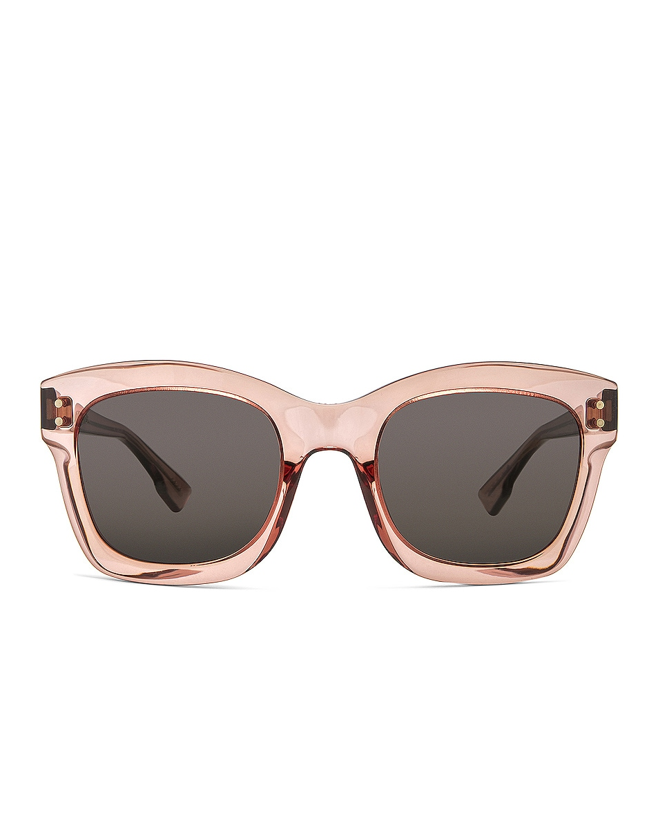 Image 1 of Dior Izon Sunglasses in Pink & Gray Blue