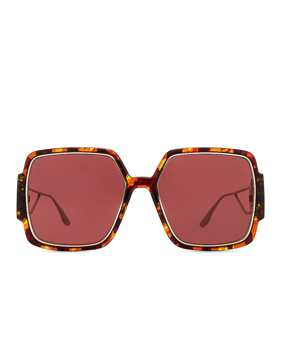 Image 1 of Dior Montaigne Sunglasses in Tortoise
