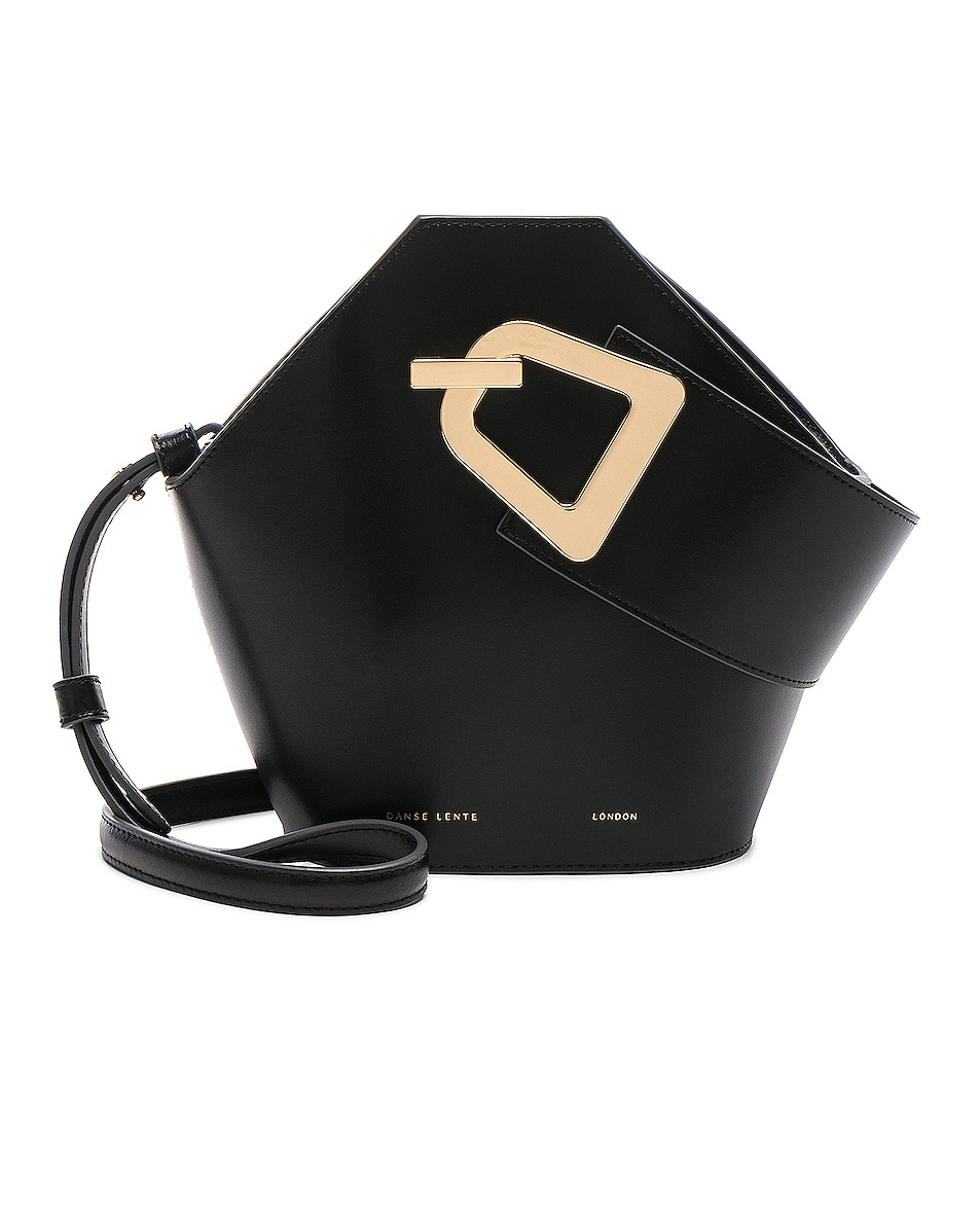 Image 1 of Danse Lente Mini Johnny Bag in Black