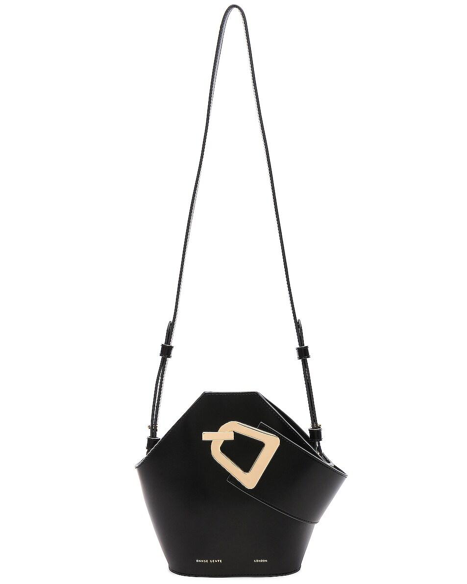 Image 6 of Danse Lente Mini Johnny Bag in Black