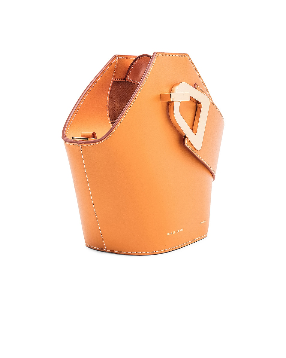 Image 4 of Danse Lente Mini Johnny Bag in Apricot