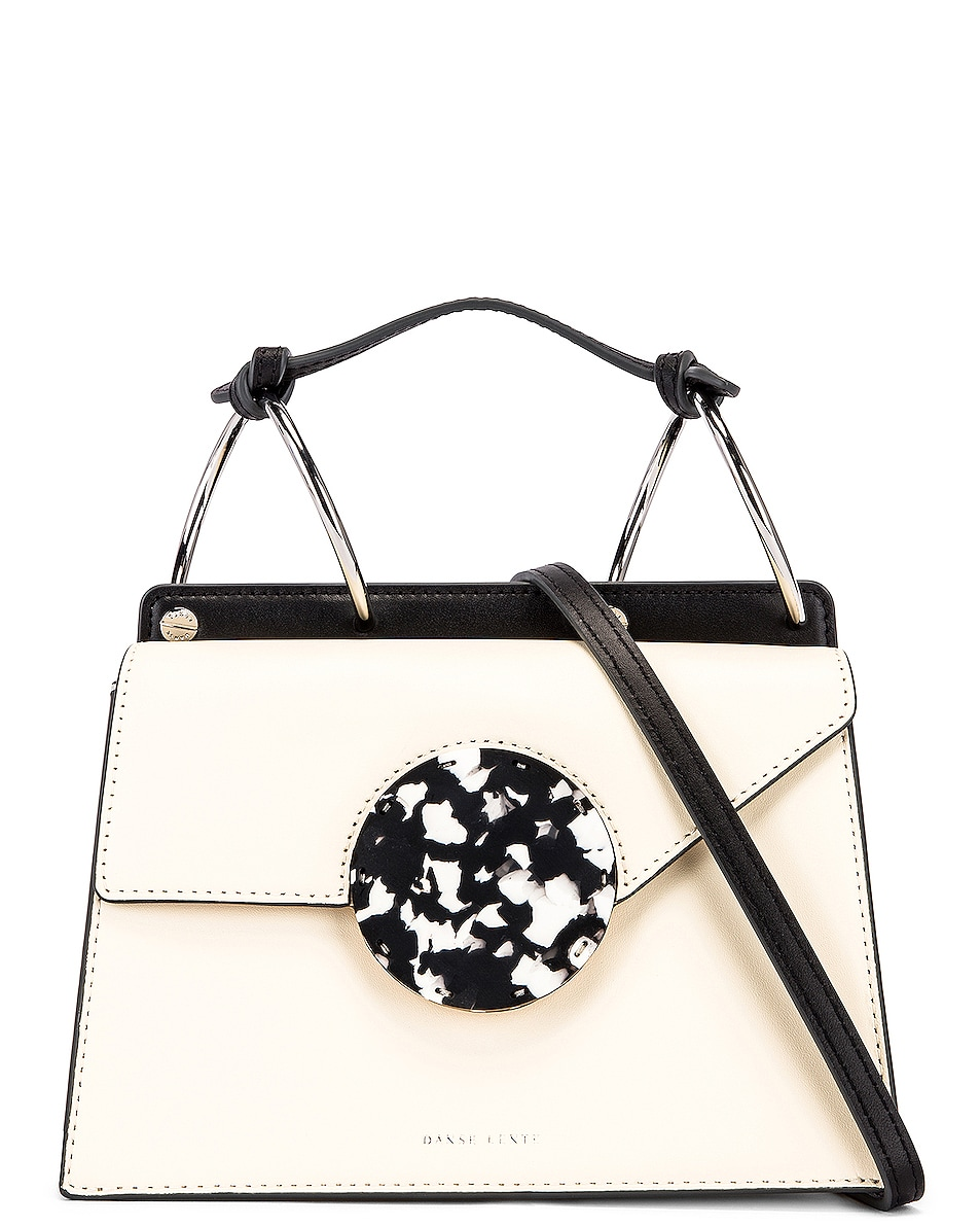Image 1 of Danse Lente Phoebe Bis Bag in Dove & Black