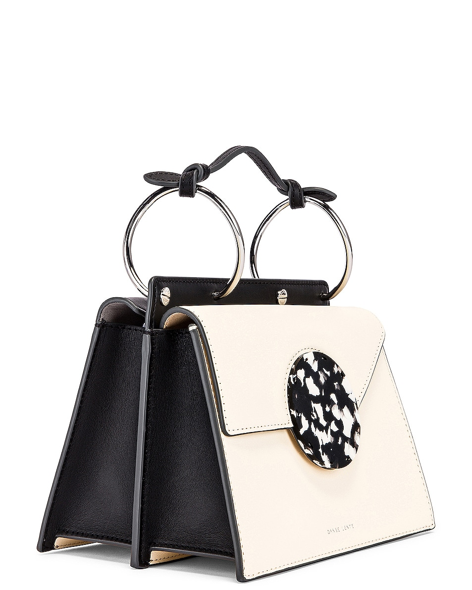 Image 4 of Danse Lente Phoebe Bis Bag in Dove & Black