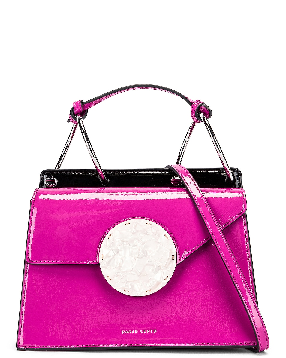Image 1 of Danse Lente Patent Phoebe Bis Bag in Orchid