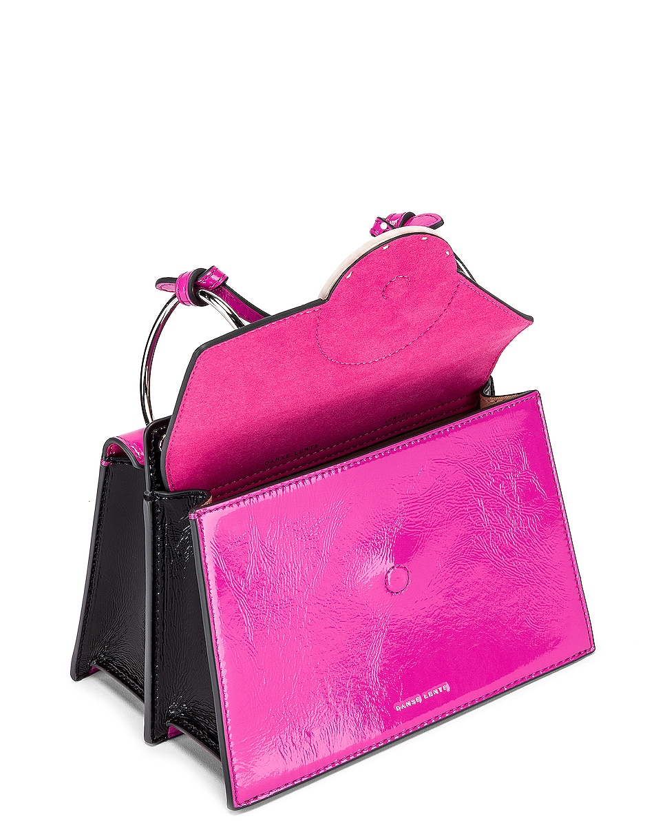 Image 5 of Danse Lente Patent Phoebe Bis Bag in Orchid