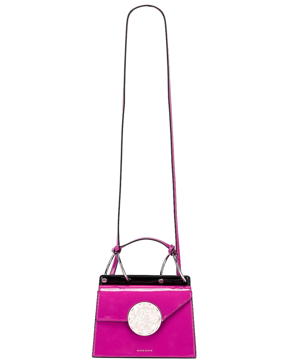 Image 6 of Danse Lente Patent Phoebe Bis Bag in Orchid
