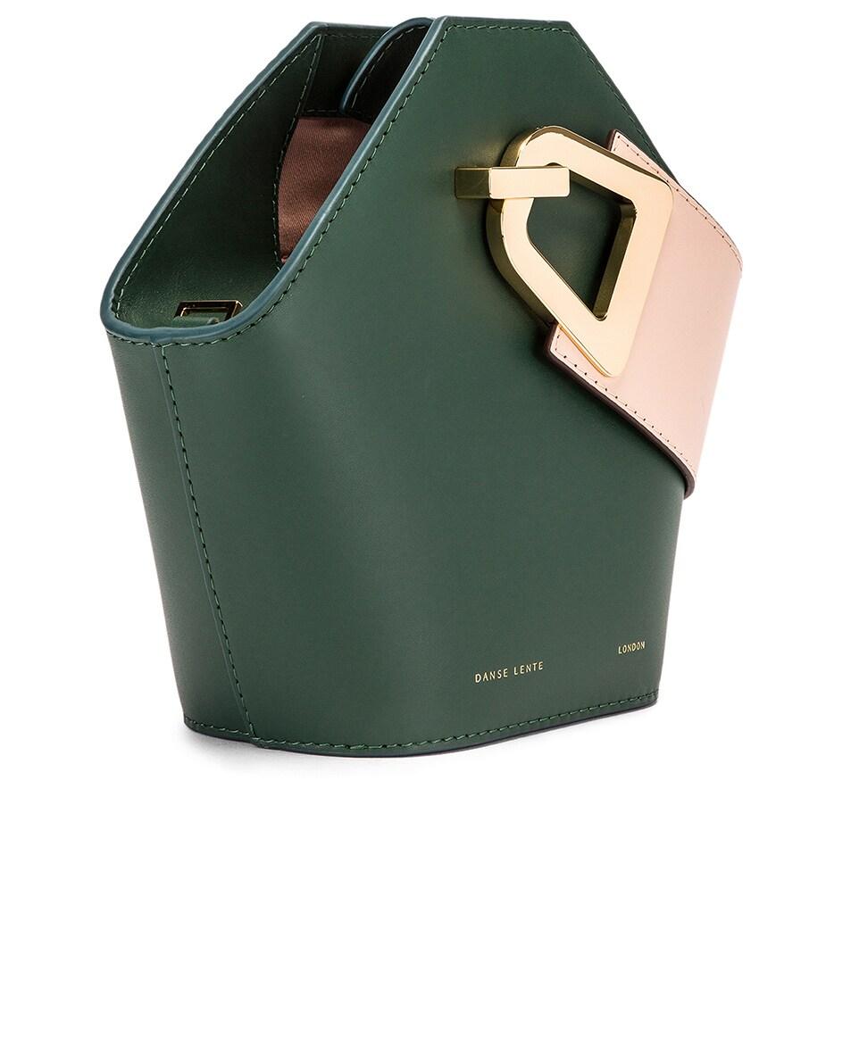 Image 4 of Danse Lente Mini Johnny Bag in Garden & Blush Gold